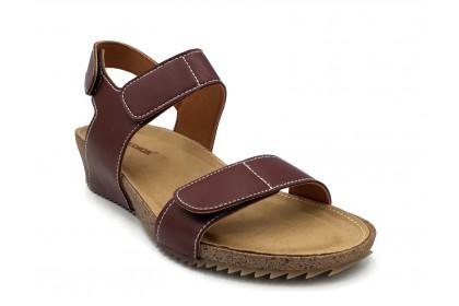 Women Leisure Velcro Adjustable Sandals 3.5CM Adjustable Velcro At Upper & Back Shoes