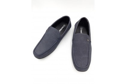 Men Casual Loafers Shoes Slip On Stitched Outsole