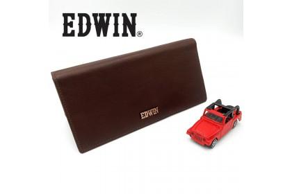 Edwin Leather Long Wallet Dompet Lelaki Purse Lelaki Dompet Panjang Original